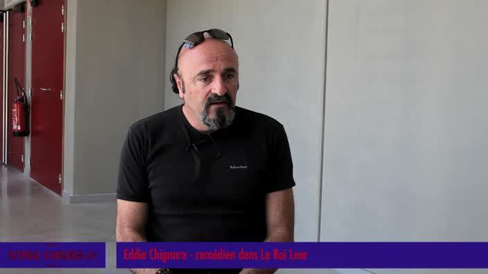 """Vidéo Jeunes critiques en Avignon : Le """"Roi Lear"""" - Le métier de comédien"""