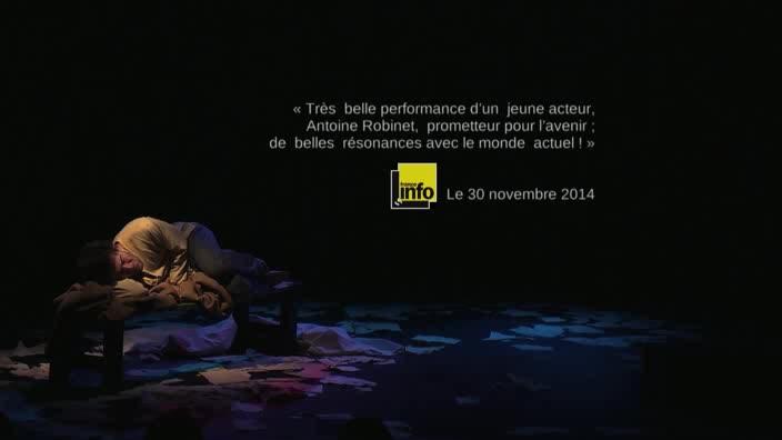 """Vidéo """"Le journal d'un fou"""", m.e.s. Bruno Dairou - Teaser 2015 (1'53)"""