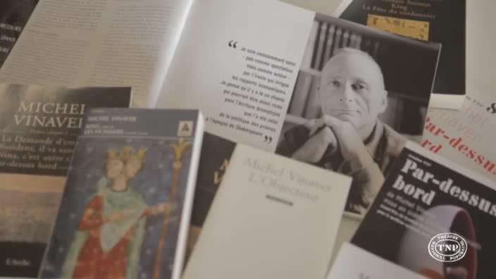 Vidéo Interview de Michel Vinaver, auteur