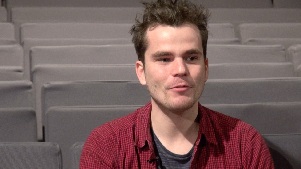 Image de la vidéo Baptiste Amann / Le premier texte de théâtre