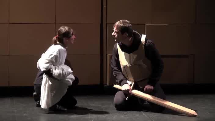 """Vidéo """"Sous l'armure"""" - Cie Les Passeurs - Bande-annonce"""