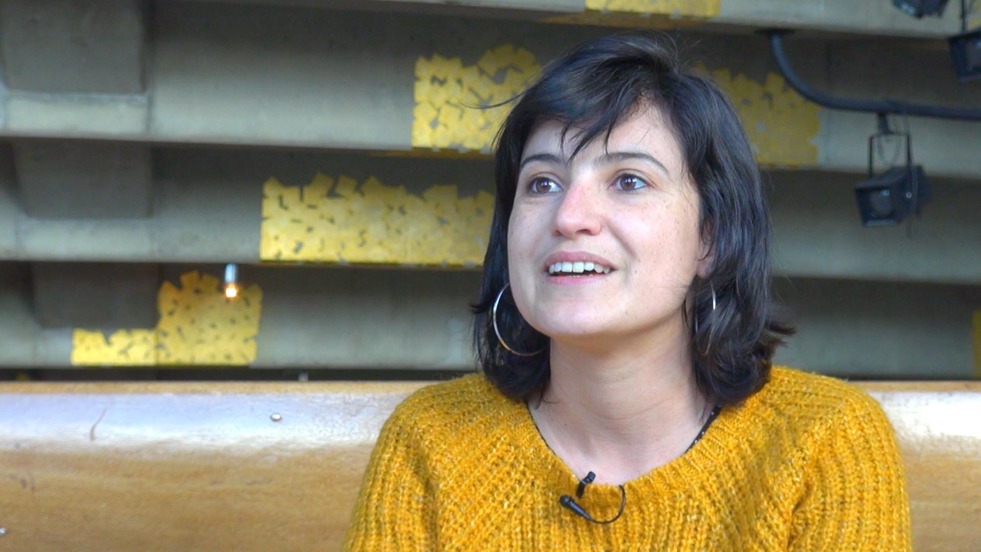 Image de la vidéo Mariette Navarro / Le contexte menant à l'écriture