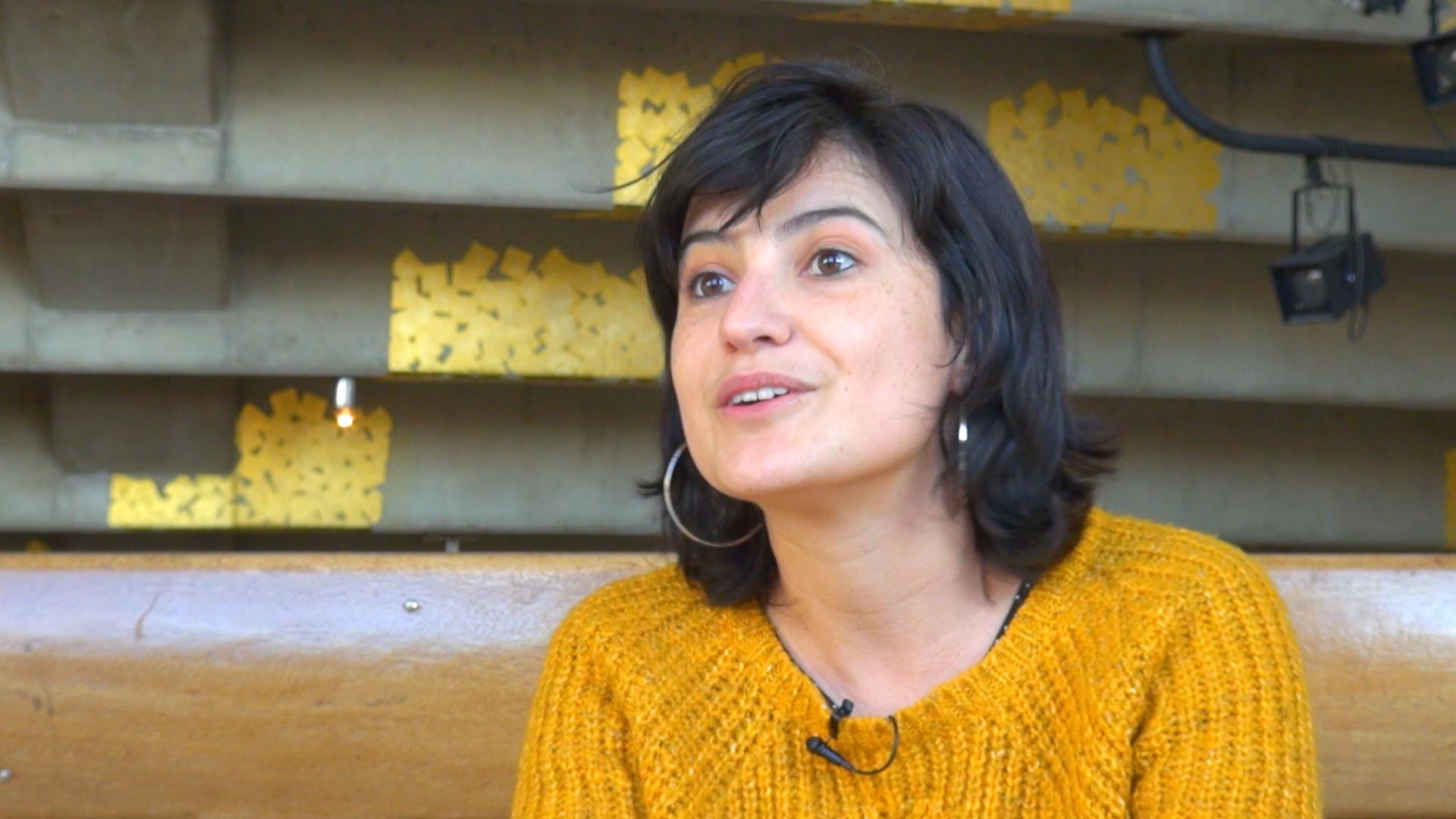 Image de la vidéo Mariette Navarro / L'écriture au jour le jour