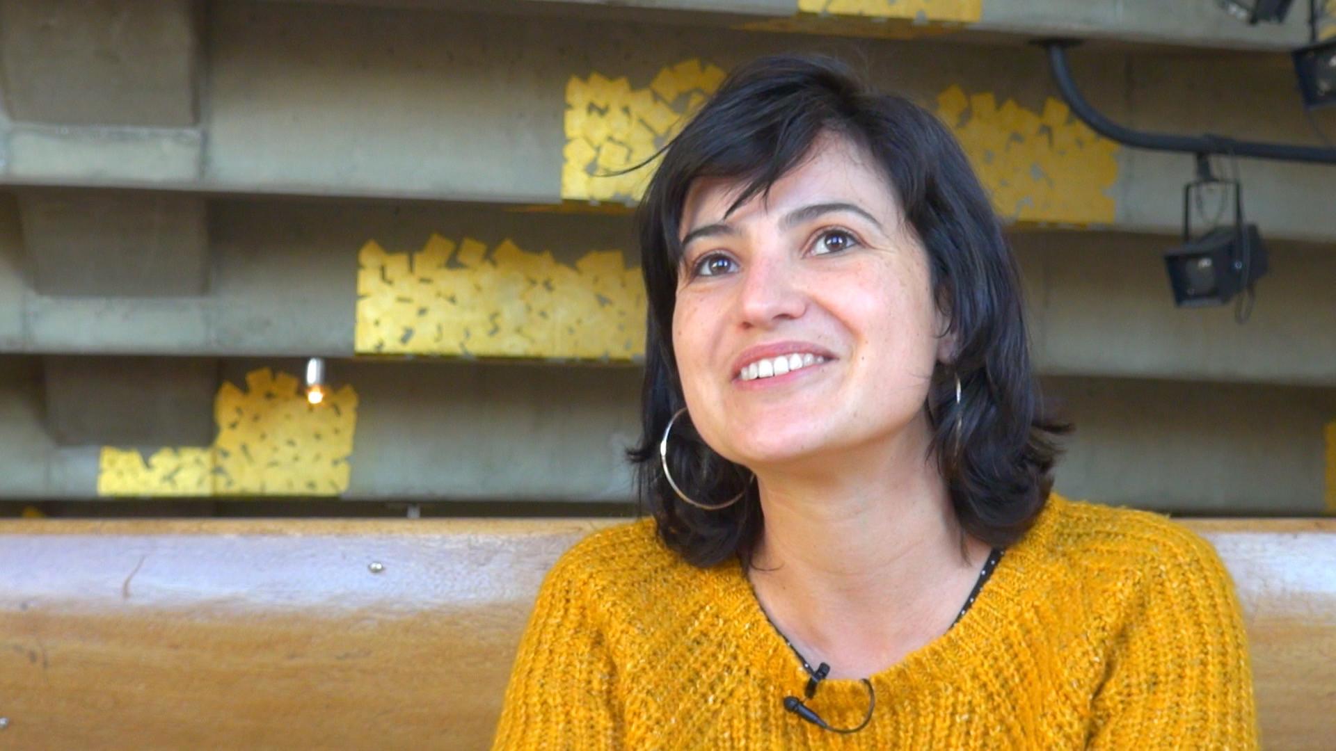 Image de la vidéo Mariette Navarro / L'appropriation du texte