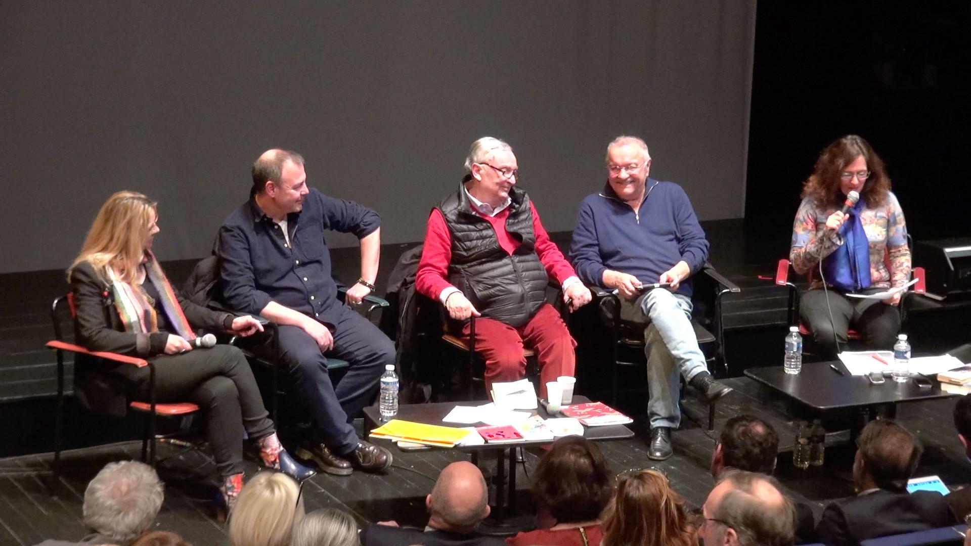 """Vidéo """"Figaro divorce"""", rencontre avec J. Lasalle, J.–P. Vincent et C. Rauck"""