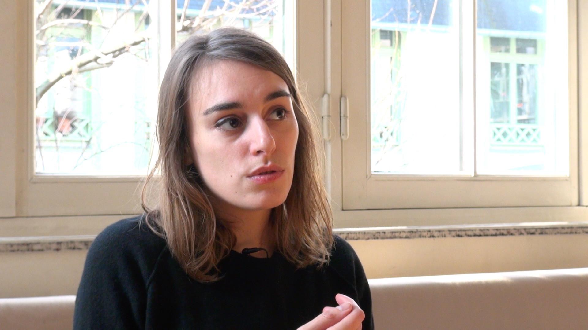 Image de la vidéo Pauline Peyrade / Le premier texte de théâtre