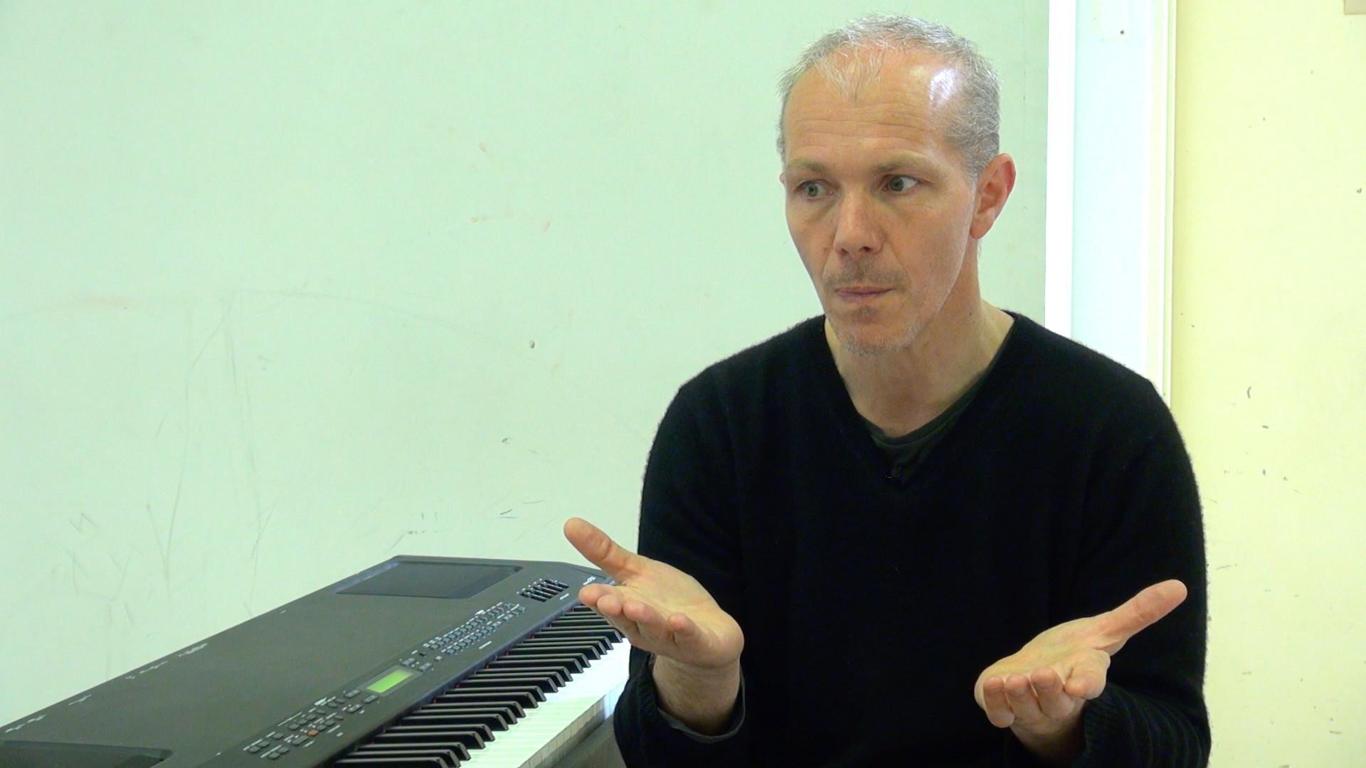"""Vidéo """"Sur les cendres en avant"""" de Pierre Notte / Présentation par l'auteur"""