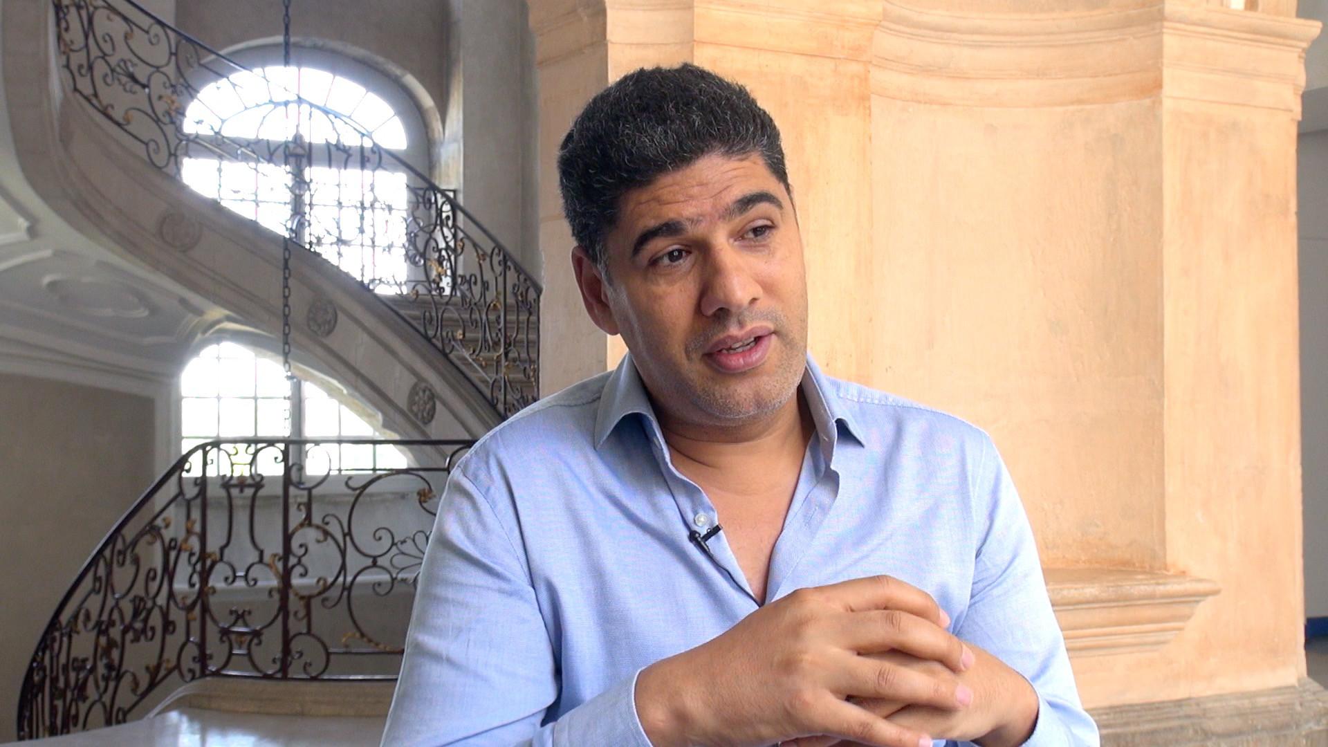 Image de la vidéo Rachid Benzine / L'appropriation du texte