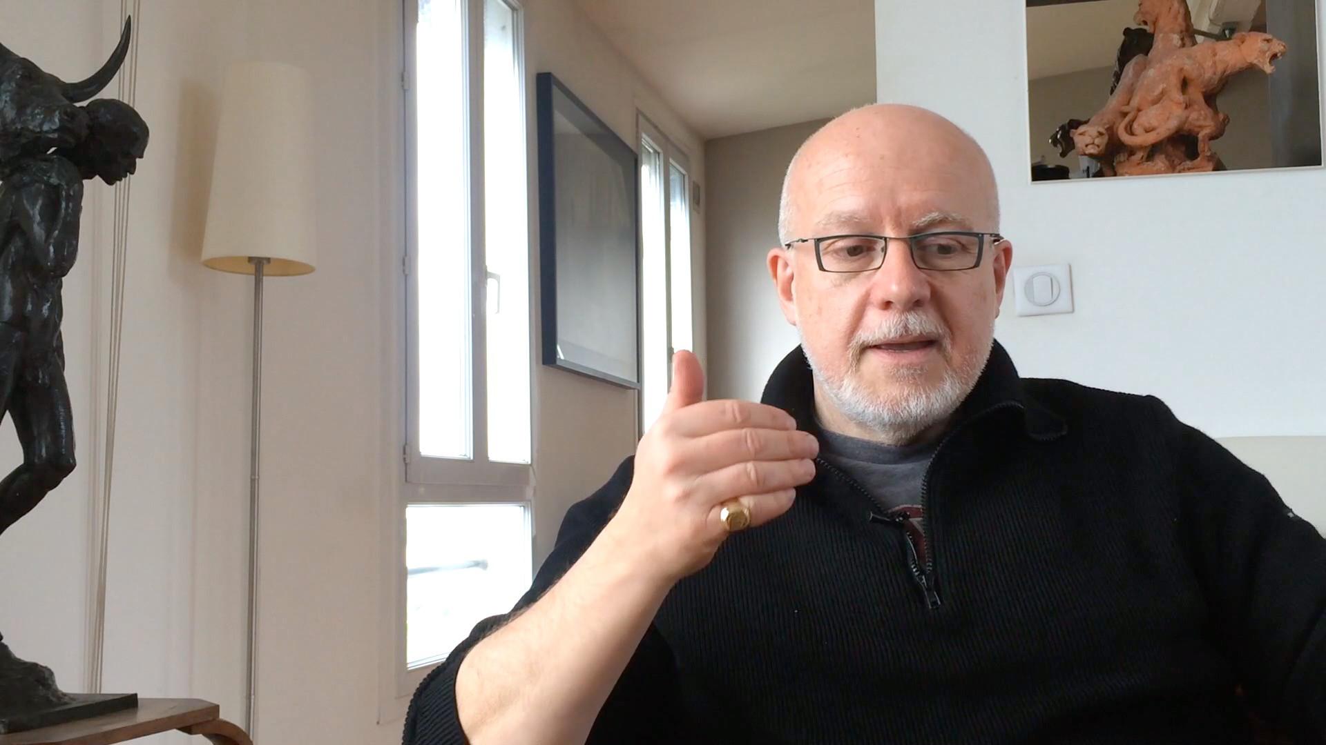 Christian Siméon / La découverte du Théâtre