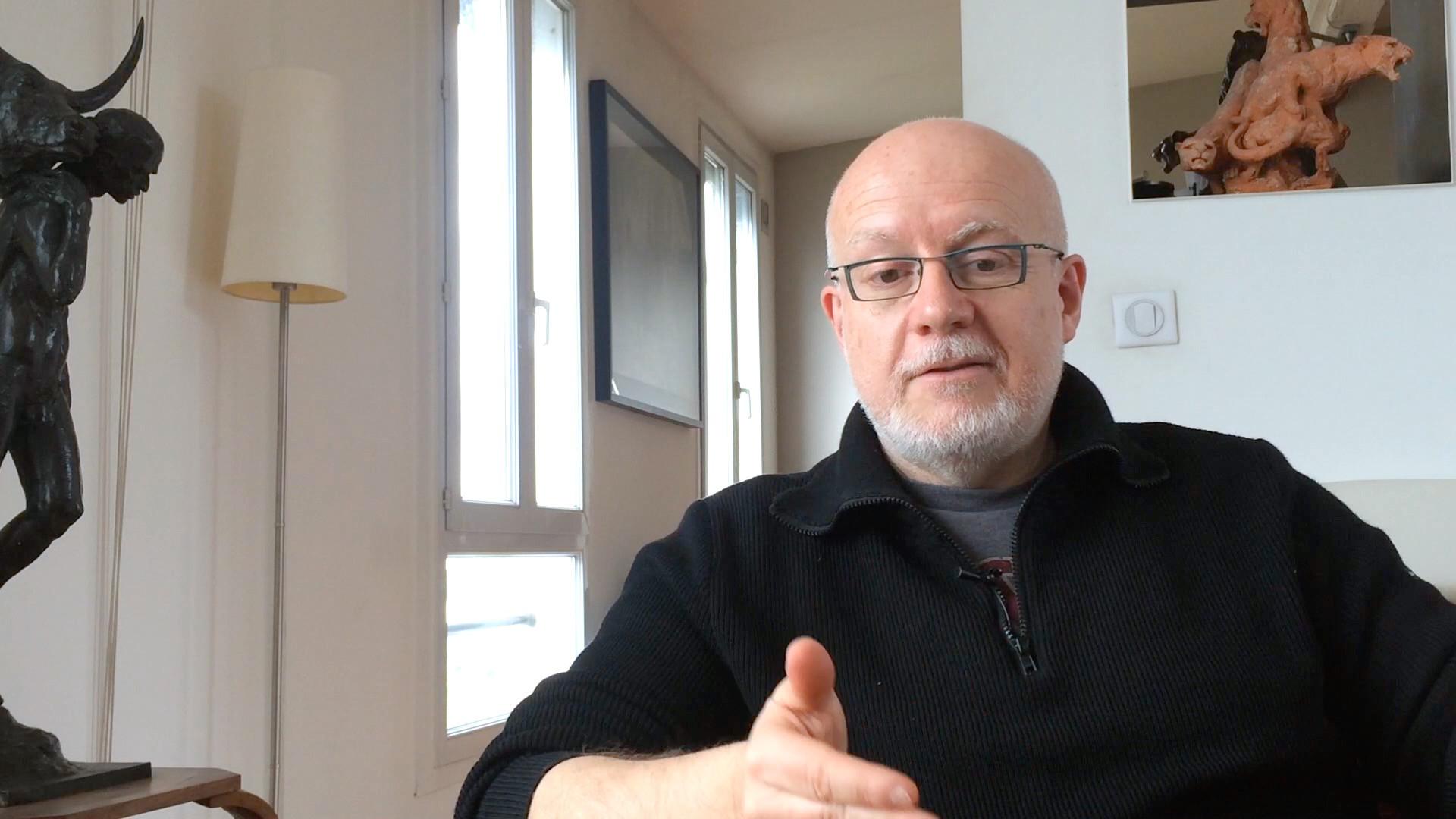 Image de la vidéo Christian Siméon - Les premiers textes