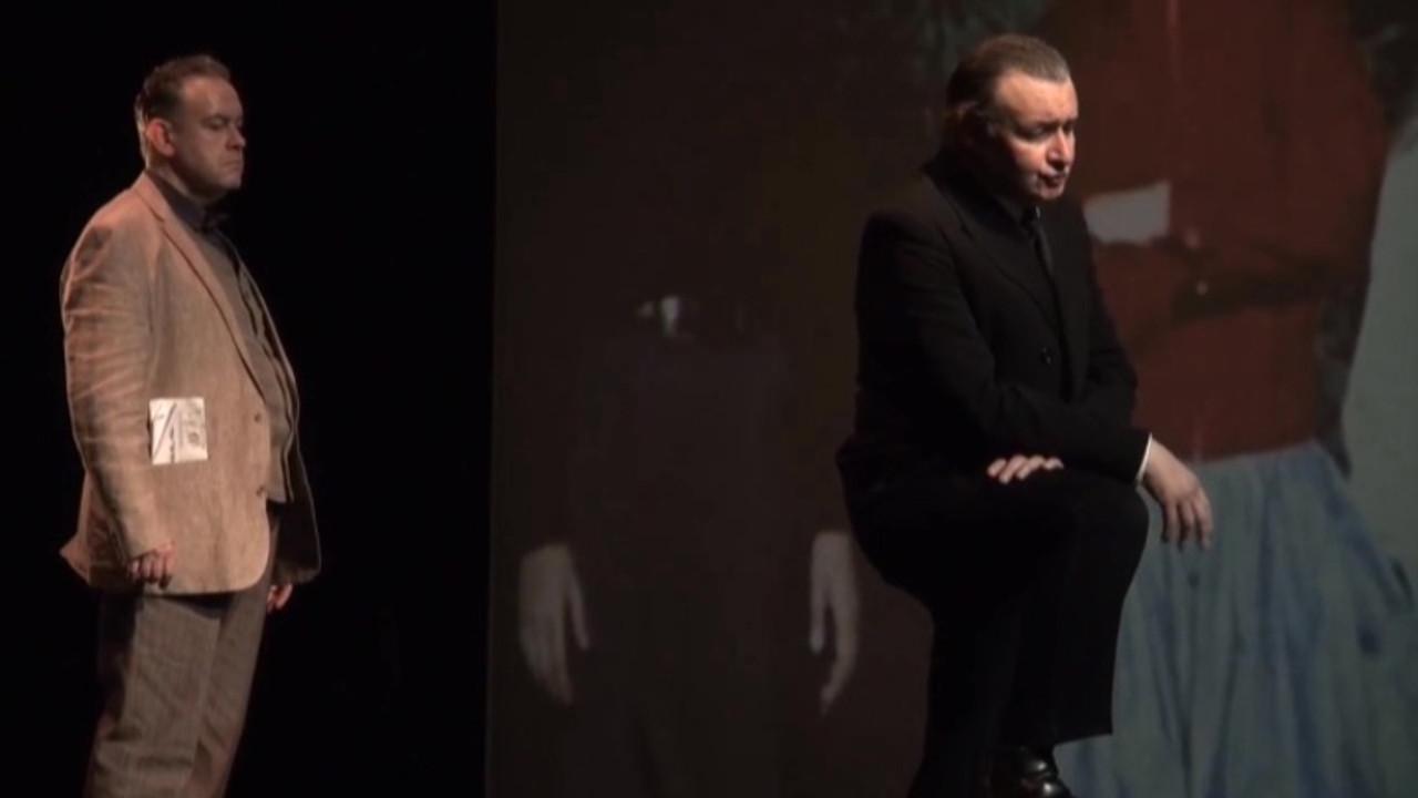 """Vidéo """"Figaro divorce"""" m.e.s. C. Rauck, Monologue aux enfants (acte 3), extrait"""