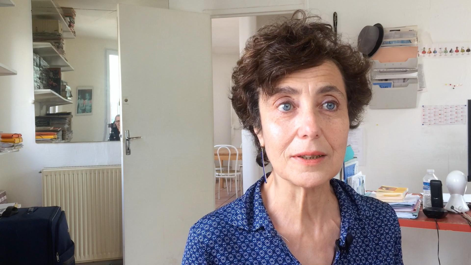 Claudine Galéa, La découverte du théâtre