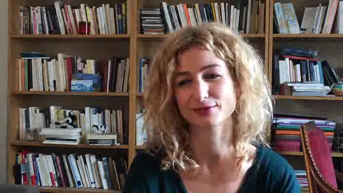 """Léonore Confino, """"La découverte du théâtre"""""""