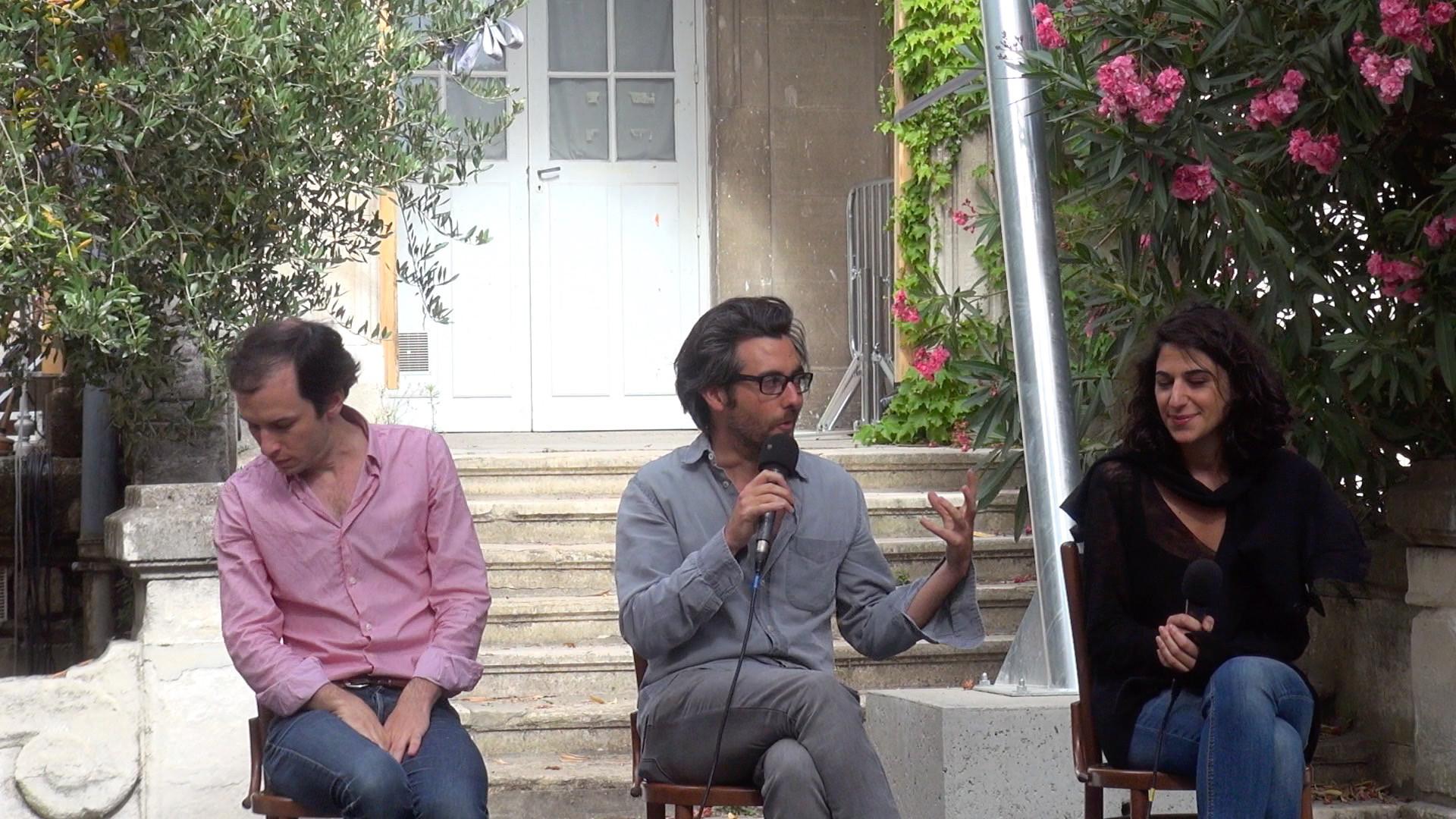 """Vidéo """"Karamazov"""", dialogue artistes-spectateurs"""