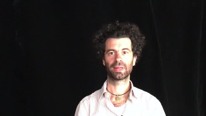 """Sébastien Joanniez, """"La découverte du théâtre"""""""