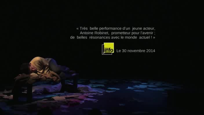 """Vidéo """"Le journal d'un fou"""", m.e.s. Bruno Dairou - Bande-annonce 2016"""