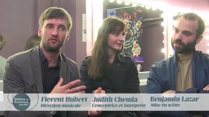 """Vidéo """"Traviata"""" - Entretien avec Judith Chemla, Benjamin Lazar et Florent Hubert"""