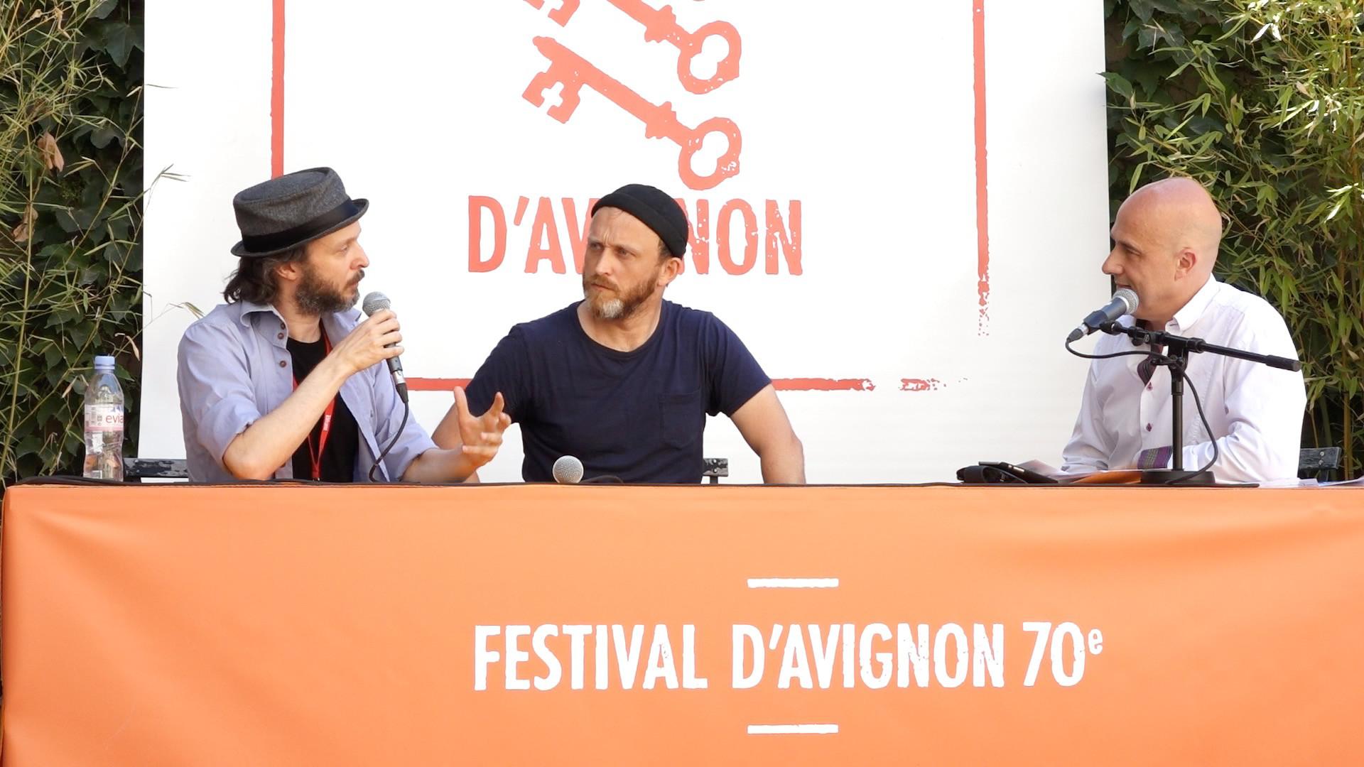 """Vidéo Sidi Larbi Cherkaoui et Damien Jalet pour """"Babel 7.16"""""""