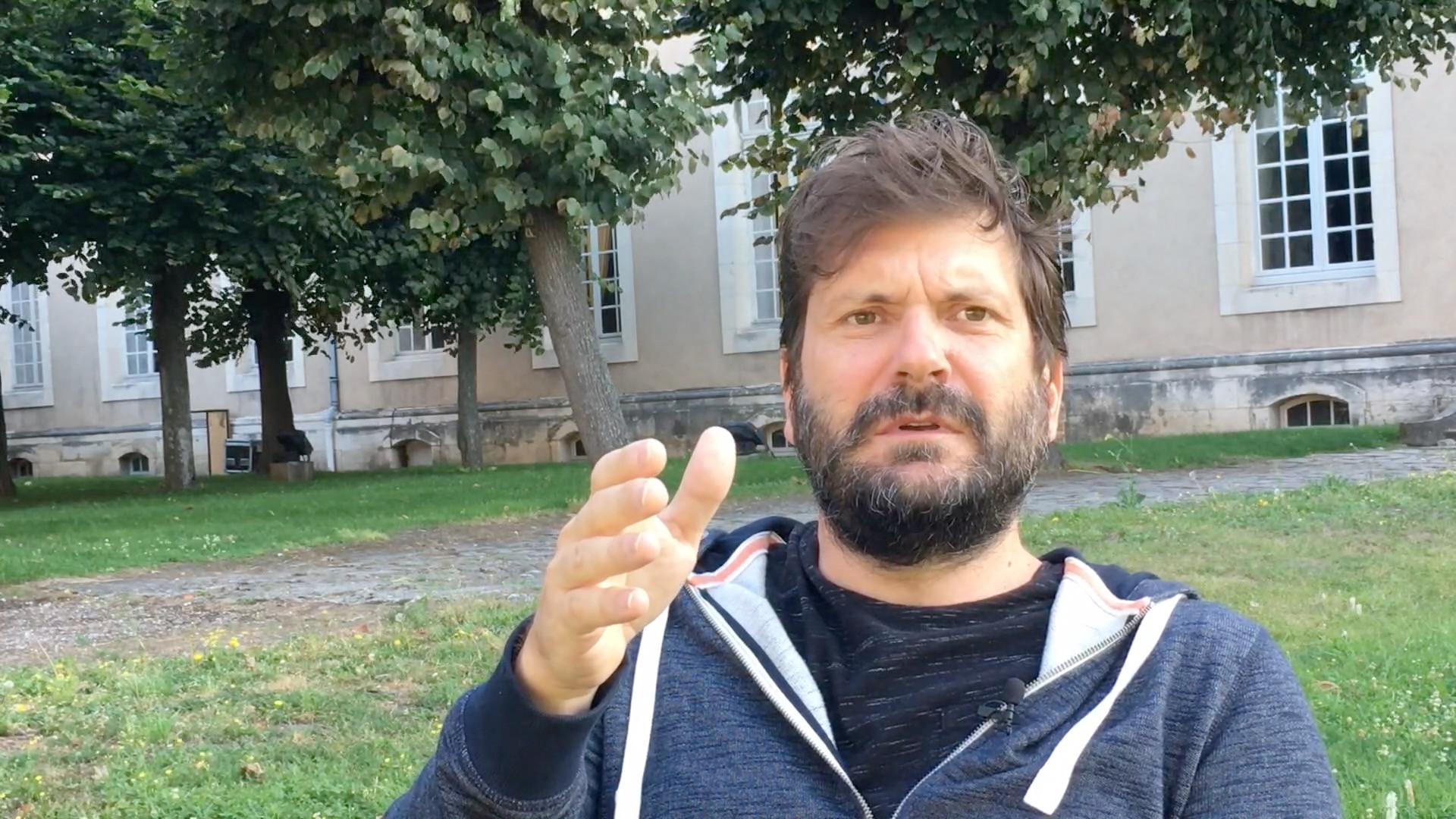 Frédéric Vossier - La découverte du théâtre