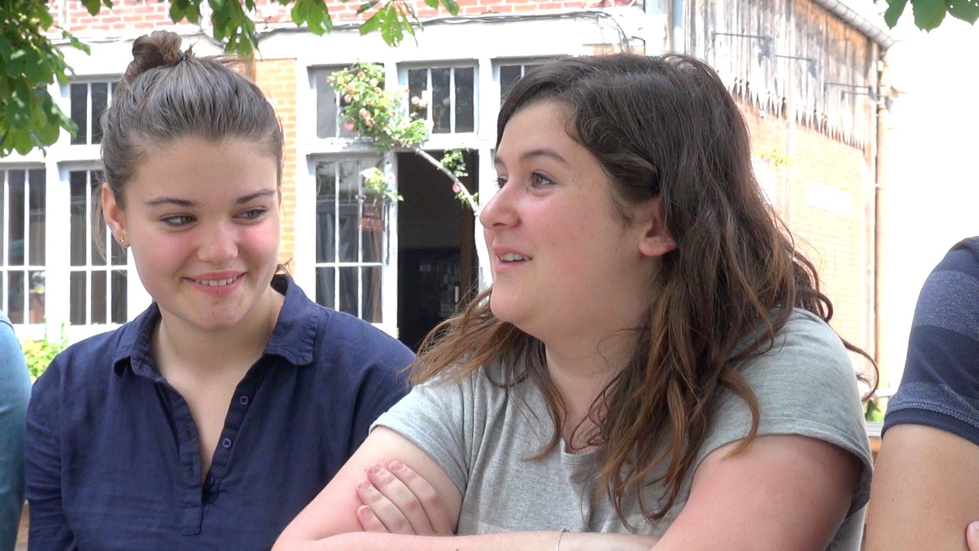 """Vidéo """"Une chambre en Inde"""", retour de répétitions par les collégiens..."""
