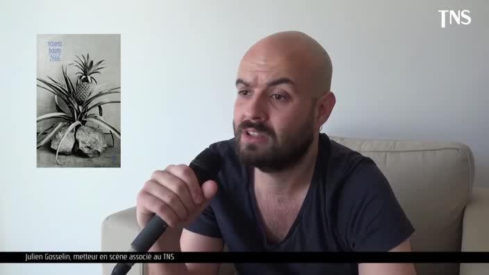 """Vidéo Julien Gosselin, """"2666"""", entretien"""