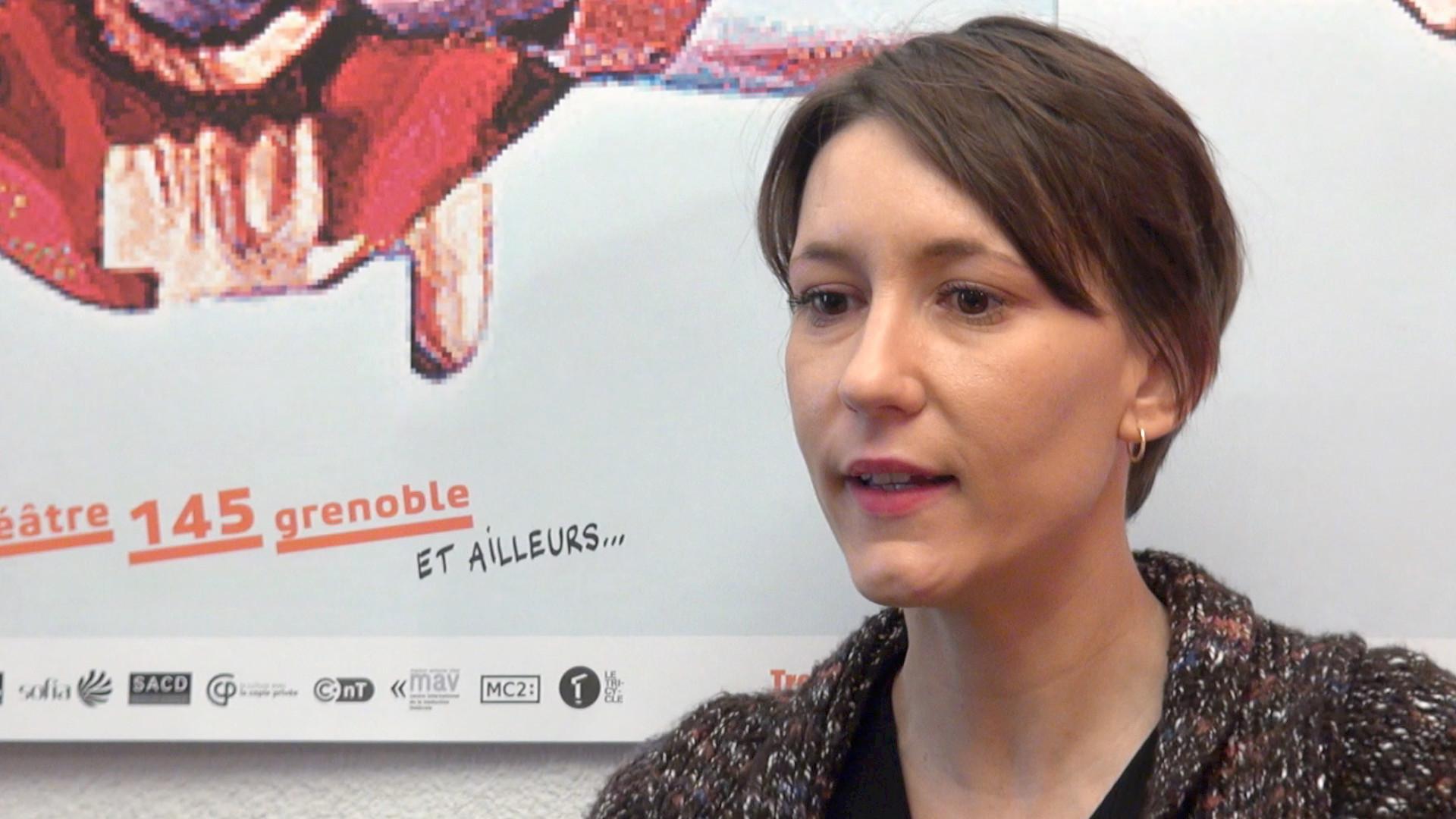 Image de la vidéo Julie Aminthe / L'écriture au jour le jour