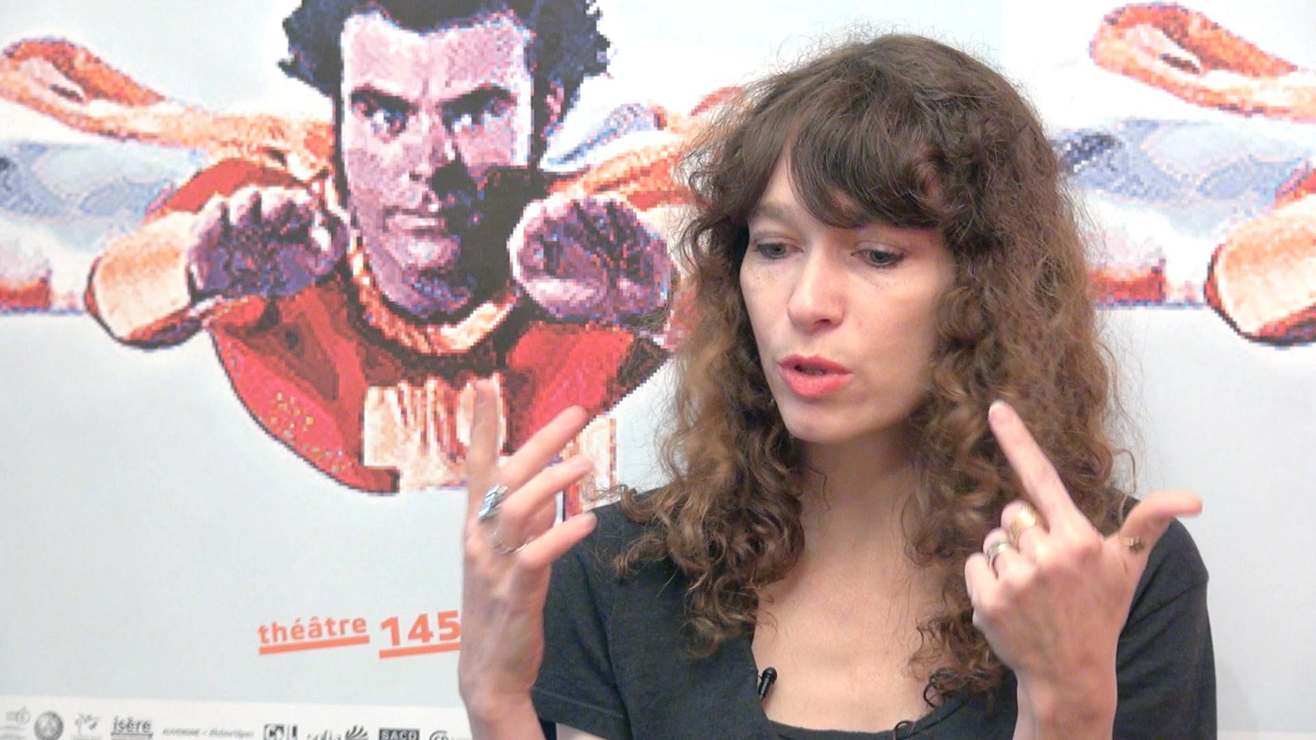 Image de la vidéo Emmanuelle Destremau / L'appropriation du texte