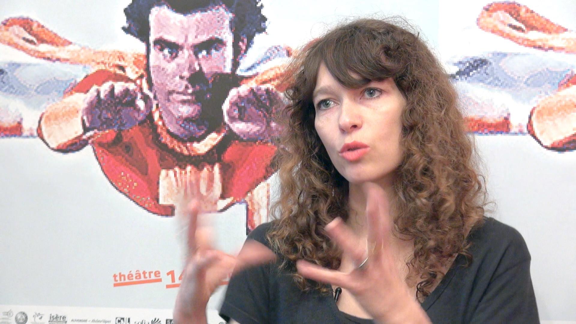 Image de la vidéo Emmanuelle Destremau / L'écriture au jour le jour