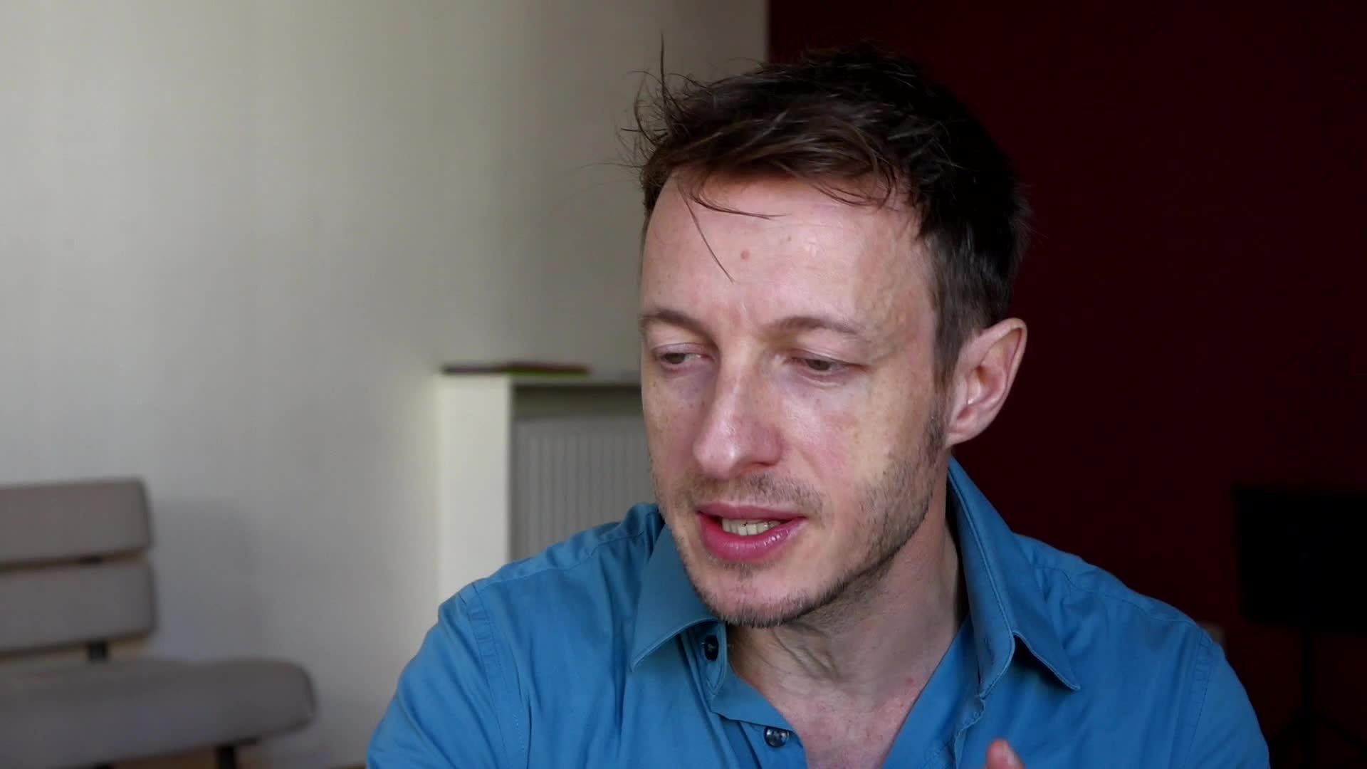 Image de la vidéo Marc-Antoine Cyr, L'écriture au jour le jour