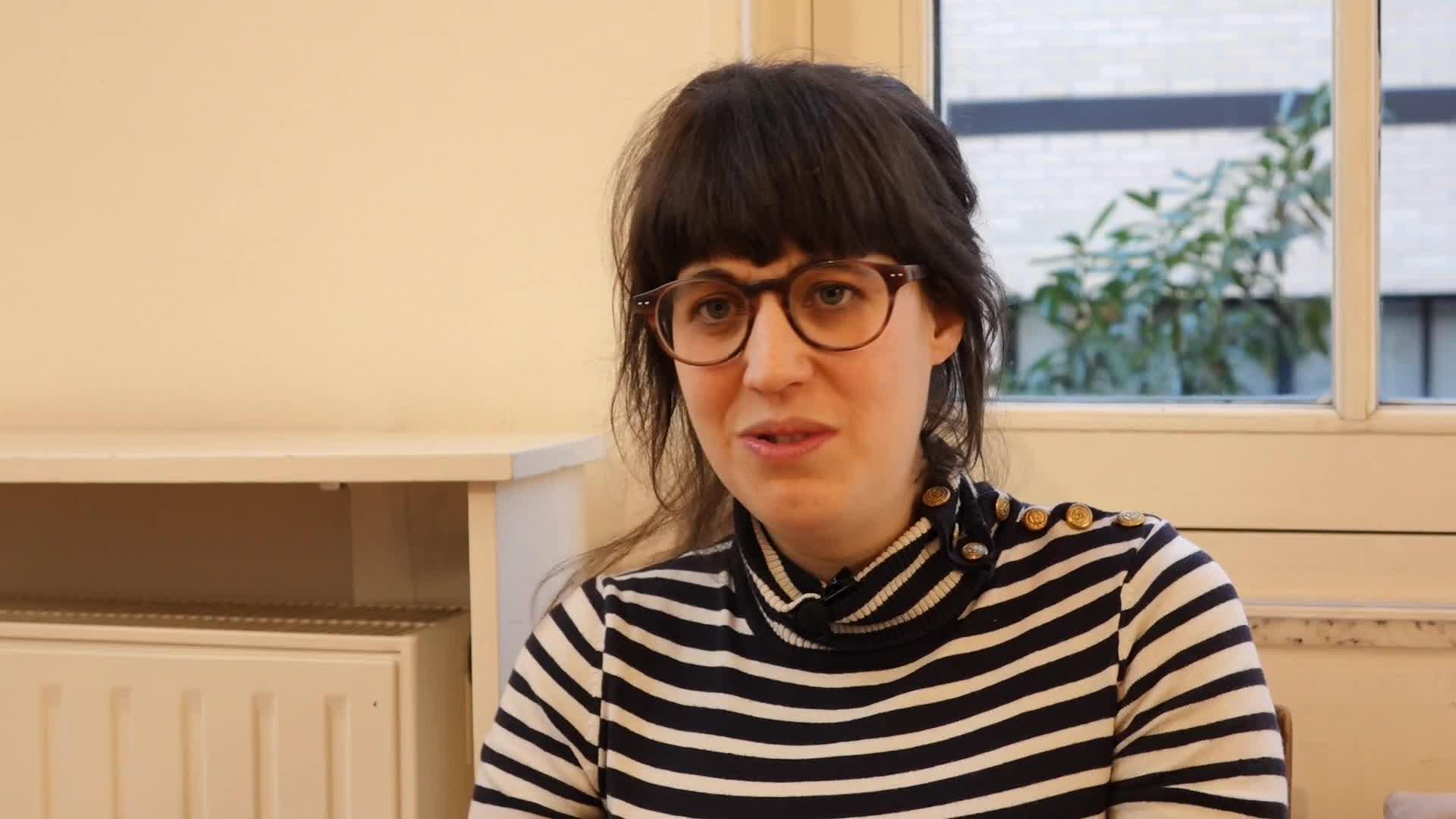 Image de la vidéo Sarah Berthiaume,