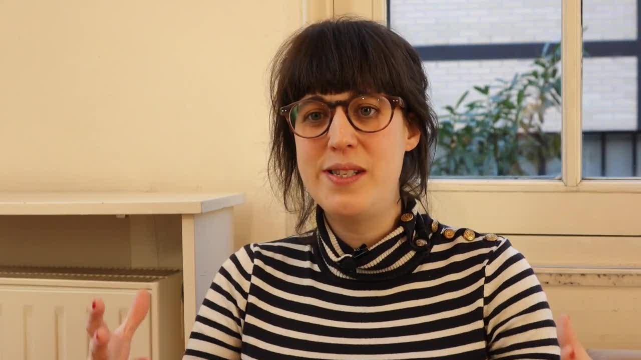 """Sarah Berthiaume, """"La découverte du théâtre"""""""