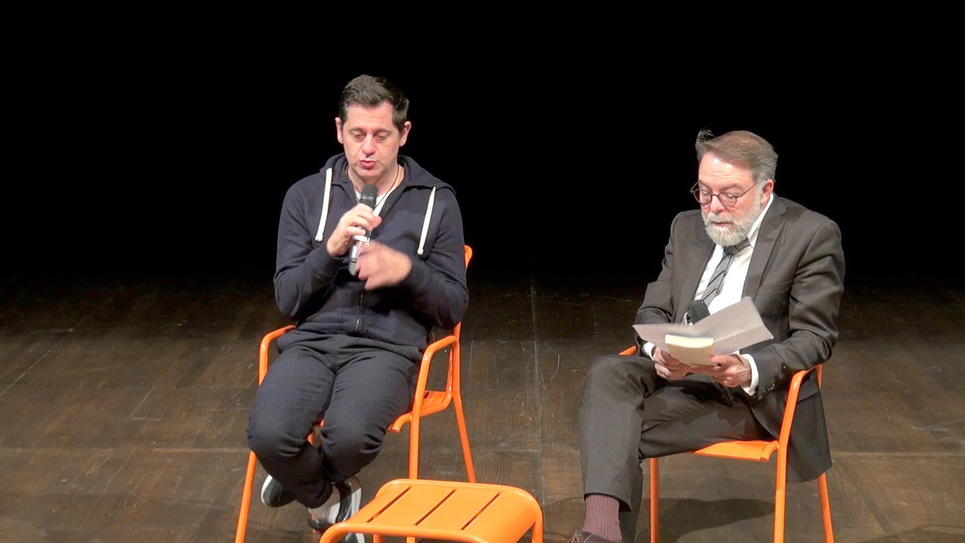 """Vidéo Rencontre avec Olivier Py autour d'""""Illusions comiques"""""""