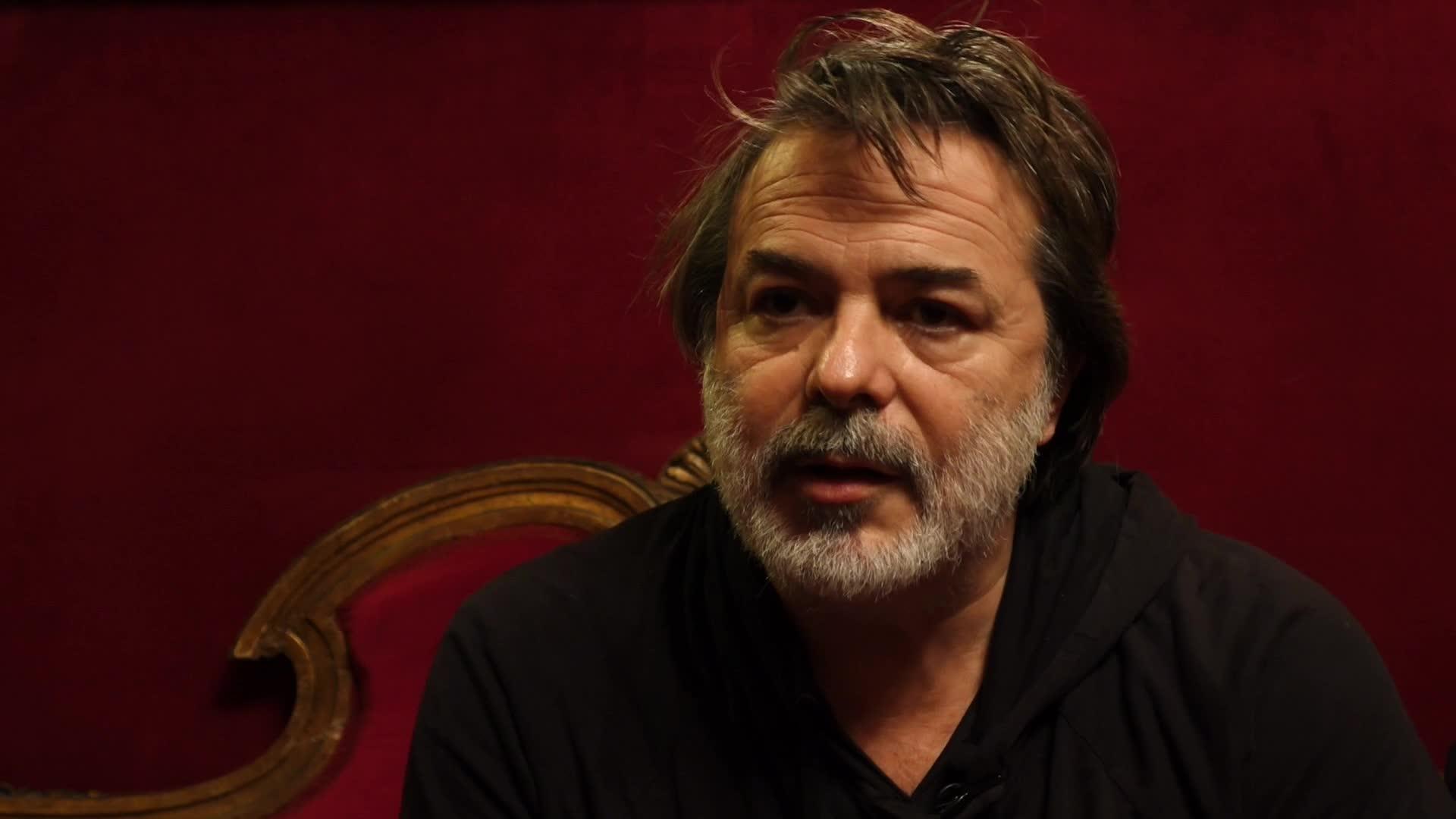 """Xavier Durringer, """"La découverte du théâtre""""."""
