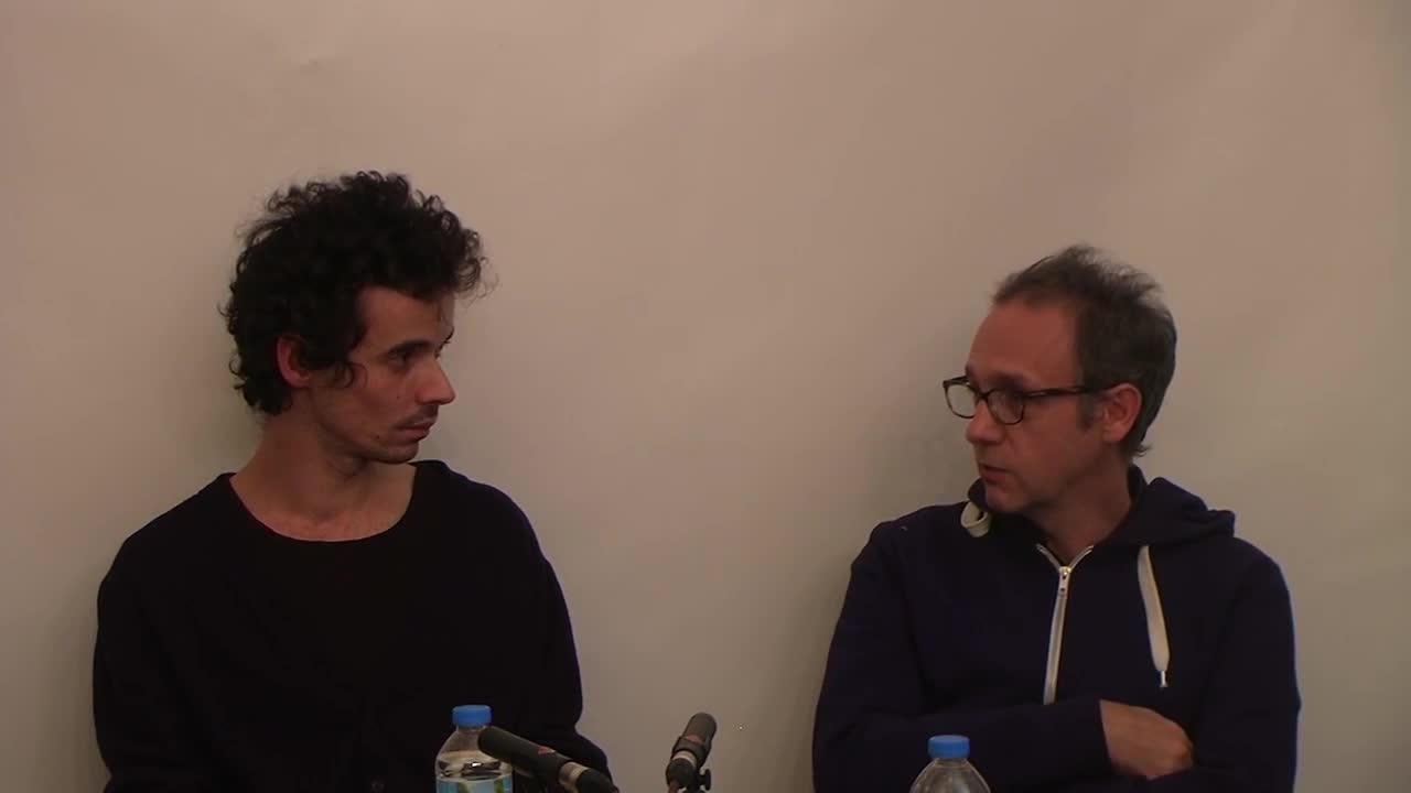 Vidéo Ecrire pour le théâtre Nicolas Doutey Rodolphe Congé