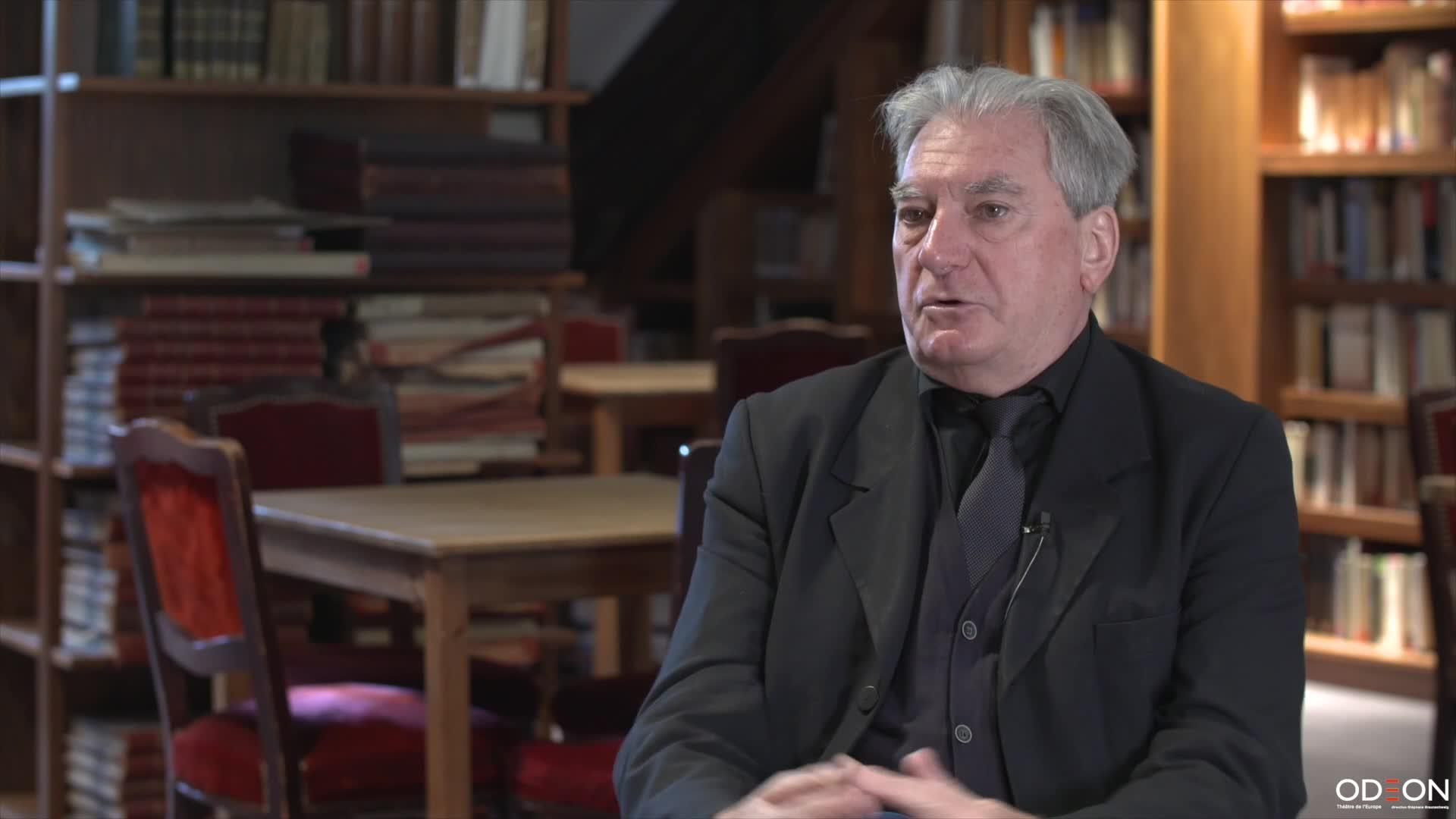 """Vidéo """"Hôtel Feydeau"""" - Entretien avec Georges Lavaudant"""