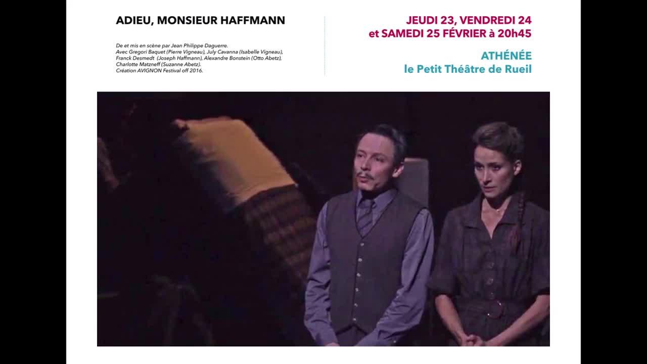 """Vidéo """"Adieu Monsieur Haffmann"""" de Jean-Philippe Daguerre - Extraits"""