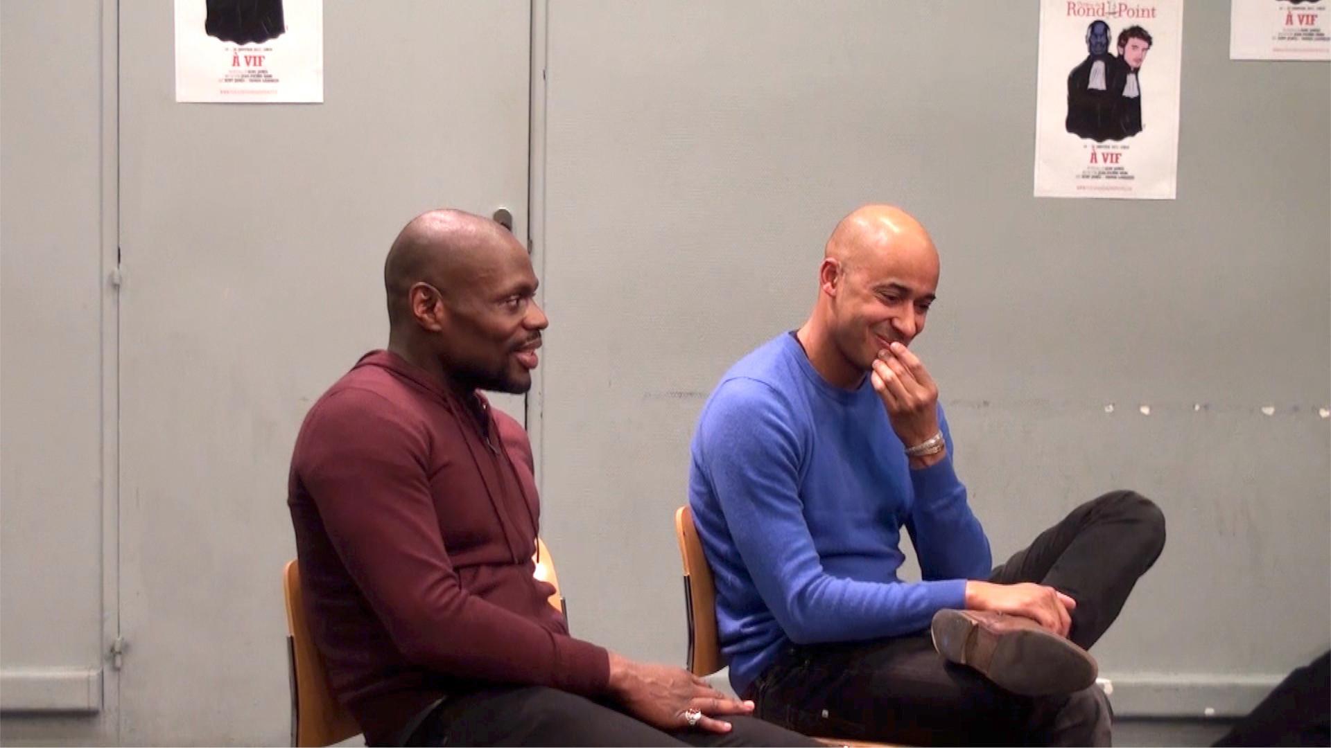 """Vidéo Kery James autour de """"À vif"""" / Le théâtre, le rap, le public"""