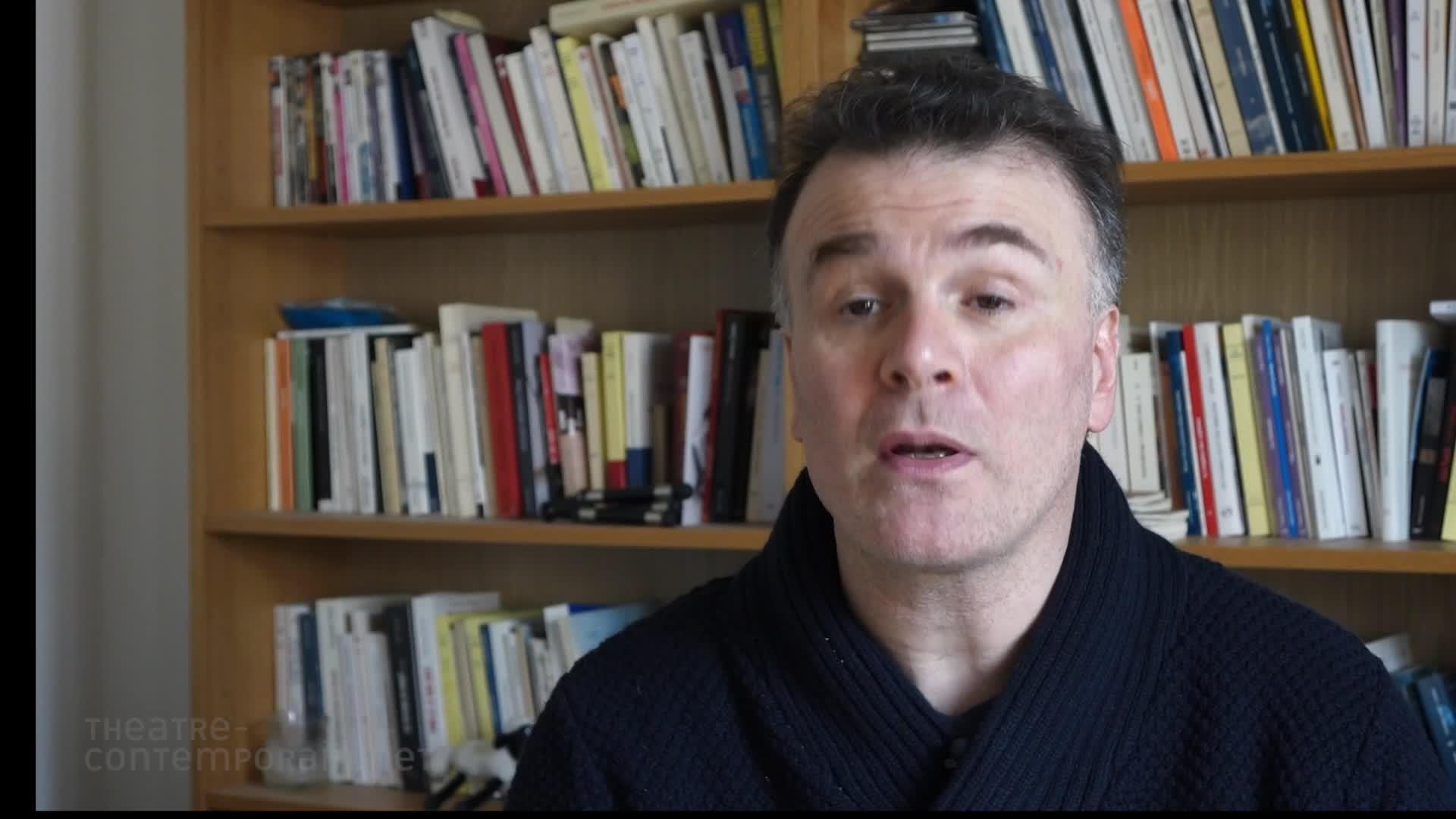 """Laurent Cottel, """"La découverte du théâtre"""""""