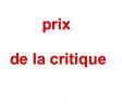 Prix du syndicat de la critique