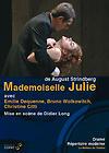 Couverture du dvd de Mademoiselle Julie