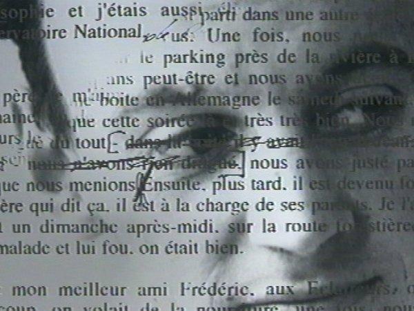 """Extrait du film """"Portrait"""" de JL Lagarce"""