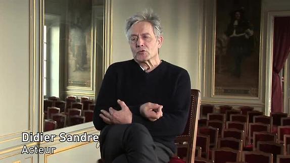"""Vidéo """"Collaboration"""", m.e.s. G. Werler, entretien avec D. Sandre, acteur"""