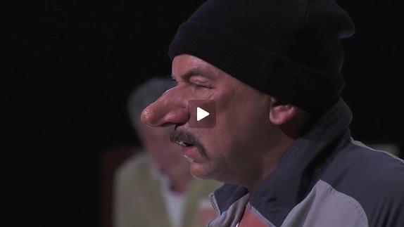 """Image du spectacle """"Cyrano de Bergerac"""", mise en scène Dominique Pitoiset, extraits"""