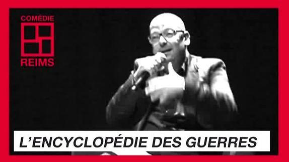 """Vidéo """"L'Encyclopédie des guerres"""" de Jean-Yves Jouannais, présentation"""
