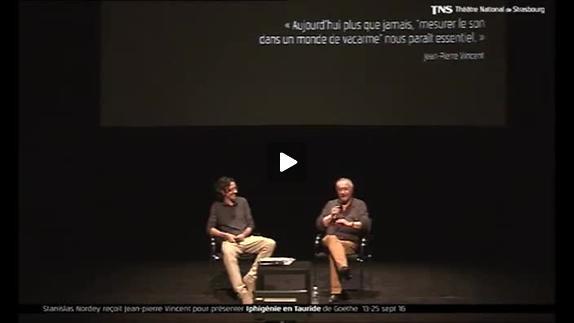 """Vidéo Jean-Pierre Vincent, """"Iphigénie en Tauride"""", présentation"""