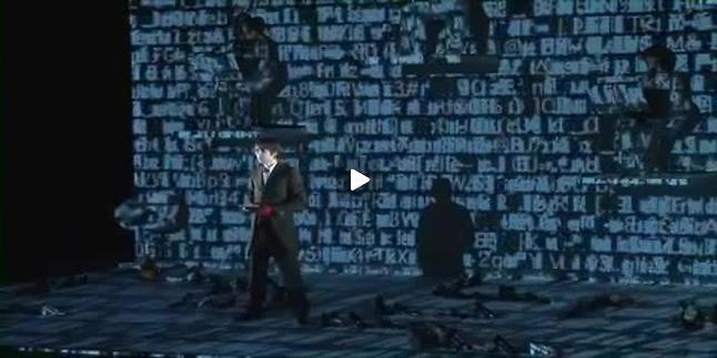 """Vidéo """"Histoire du soldat"""", m.e.s. Roland Auzet, extraits"""