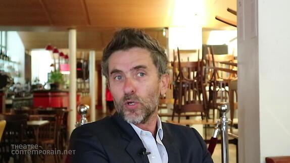 "Vidéo Pascal Rambert, ""Reconstitution"", présentation"