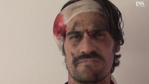 """Vidéo Claudel, """"Partage de Midi"""", Alexandre Ruby interprète Amalric"""