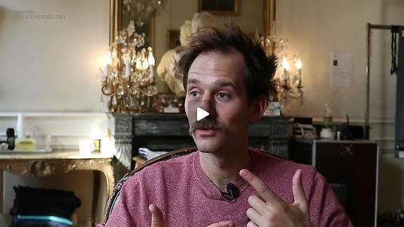 """Vidéo Benjamin Lavernhe, """"Scapin"""", le travail de l'acteur"""