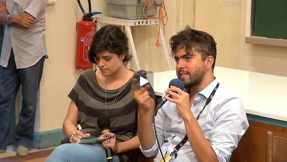 """Vidéo """"Dialogue artistes-spectateurs"""" autour de """"O kyklismos tou tetragonou"""""""